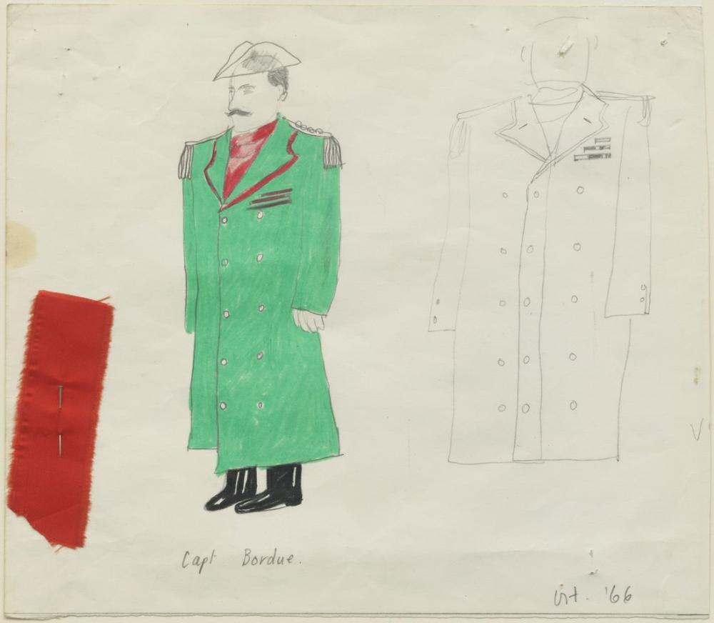 David Hockney, Kaptan Bordure, Figür, David Hockney