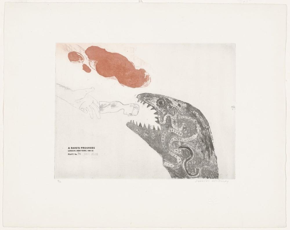 David Hockney, Kenara Döküm, Figür, David Hockney