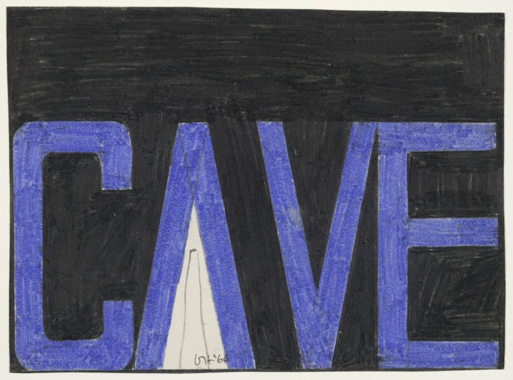 David Hockney, Mağara, Kanvas Tablo, David Hockney