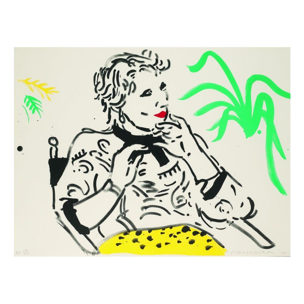 David Hockney, Celia, Figür, David Hockney