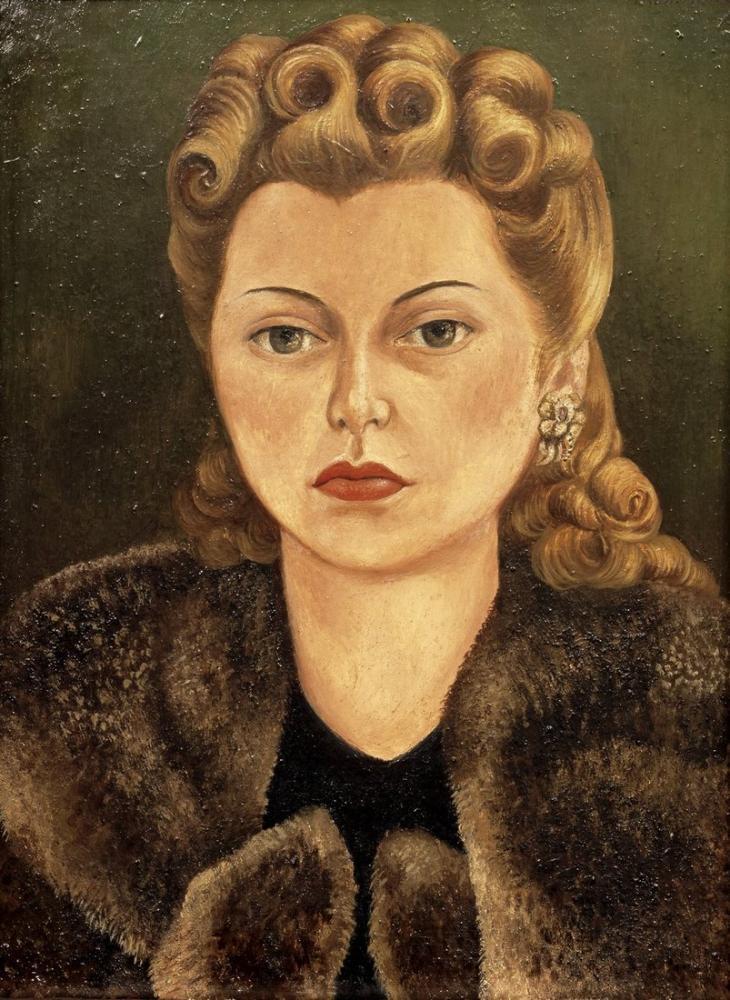 Diego Rivera, Retrato de Natasha Gelman, Canvas, Diego Rivera, kanvas tablo, canvas print sales
