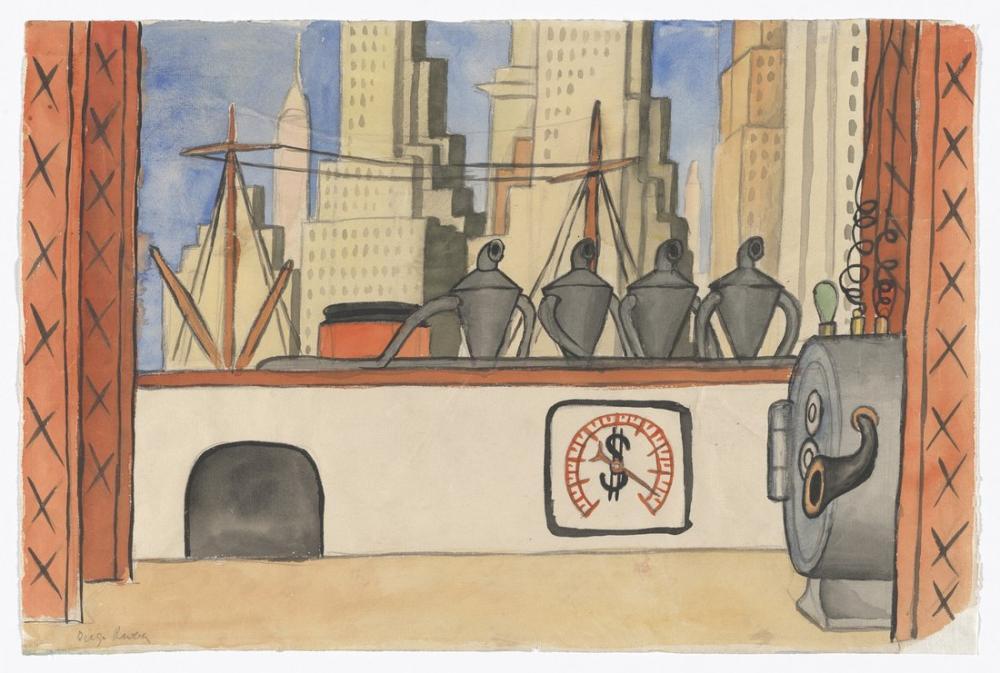 Diego Rivera, Bale, Figür, Diego Rivera