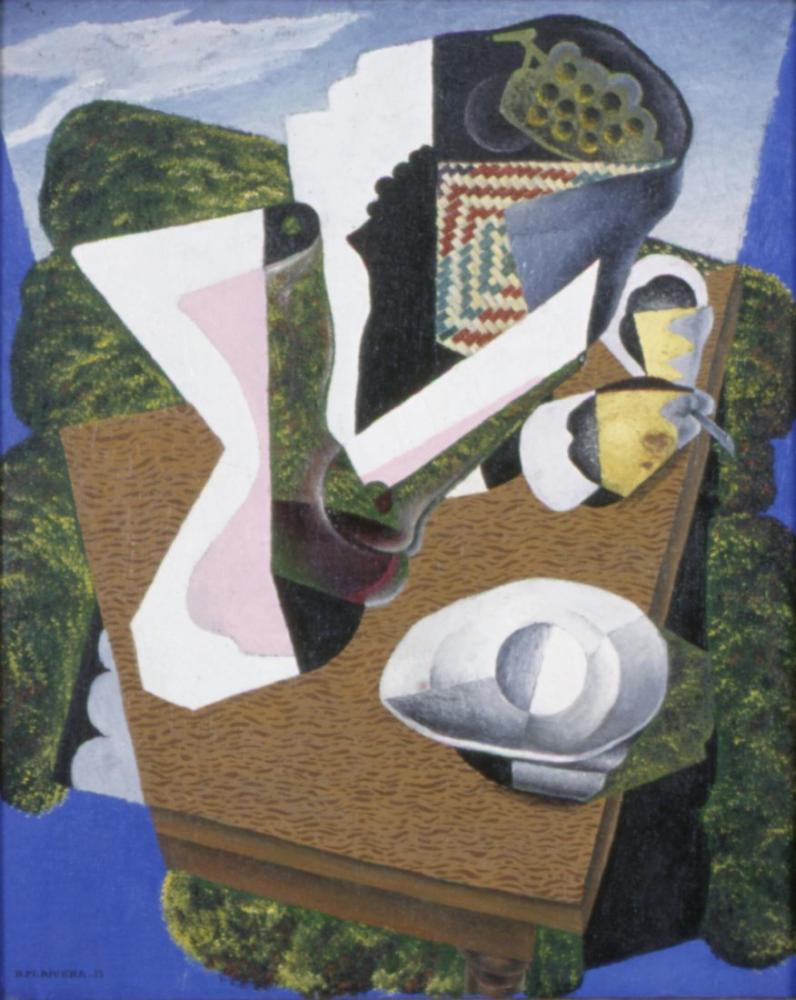 Diego Rivera, Natürmort, Figür, Diego Rivera