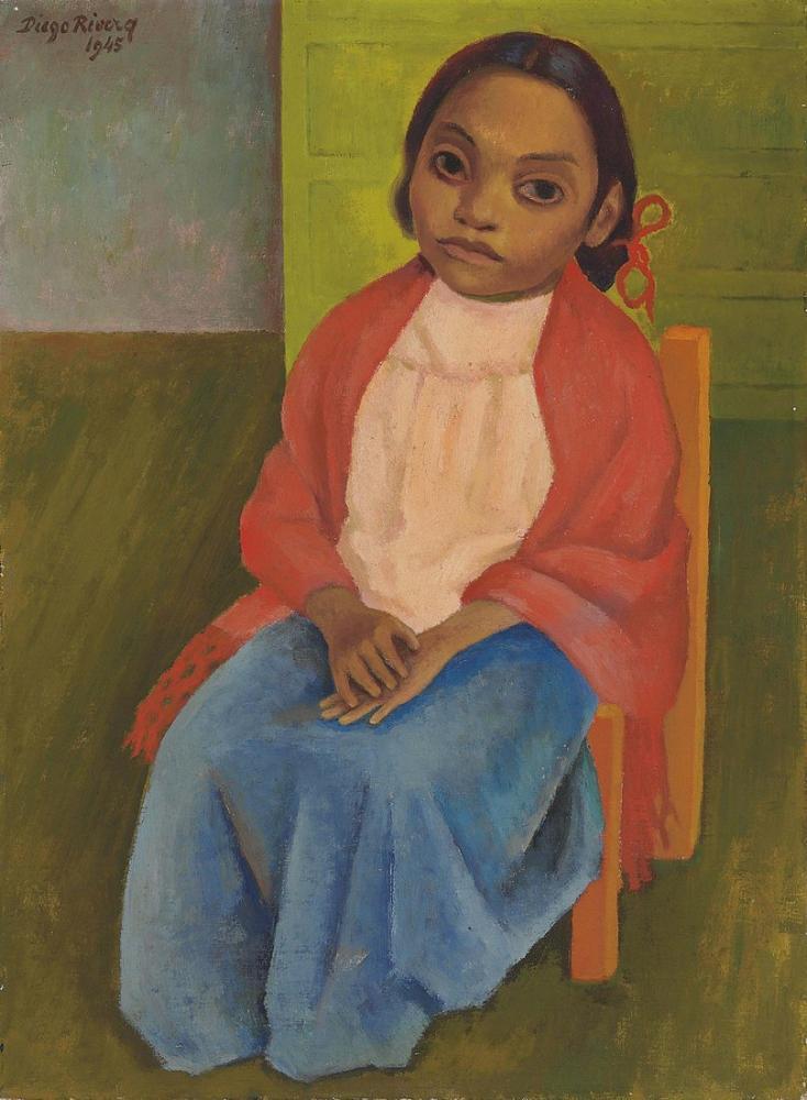 Diego Rivera, Retrato de Julieta, Canvas, Diego Rivera, kanvas tablo, canvas print sales