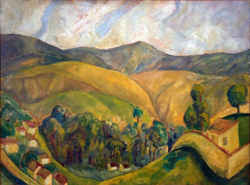 Diego Rivera, Manzara, Kanvas Tablo, Diego Rivera