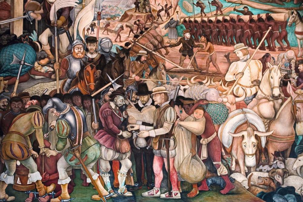 Diego Rivera, La Malinche, Figür, Diego Rivera