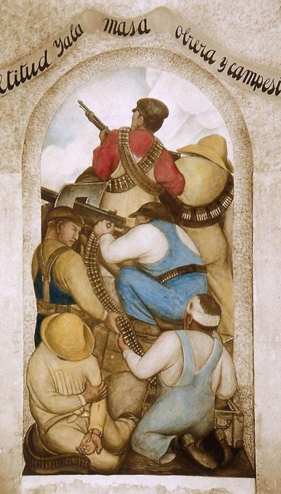 Diego Rivera, Siperlerde, Kanvas Tablo, Diego Rivera