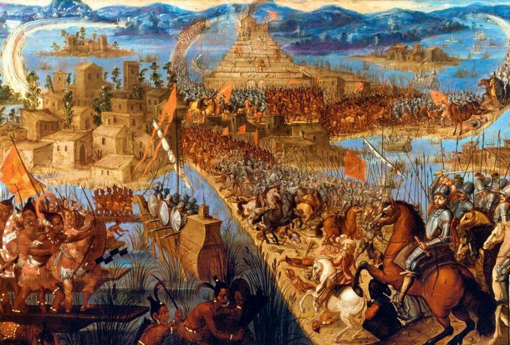 Diego Rivera, Tenochtitlan Savaşı, Figür, Diego Rivera
