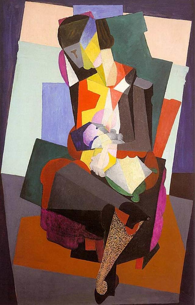 Diego Rivera, Annelik Angelina ve Çocuk Diego, Figür, Diego Rivera