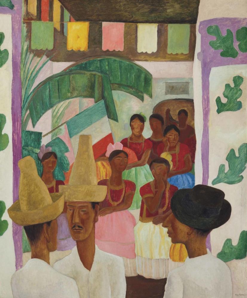 Diego Rivera, Los Rivales, Figure, Diego Rivera, kanvas tablo, canvas print sales