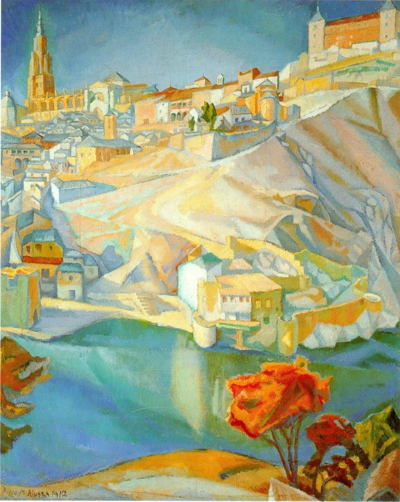 Diego Rivera, Toledo, Kanvas Tablo, Diego Rivera, kanvas tablo, canvas print sales