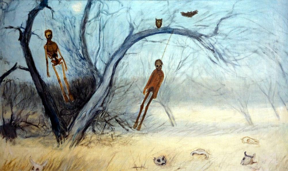 Diego Rivera, Goitia Askı Erkek, Figür, Diego Rivera