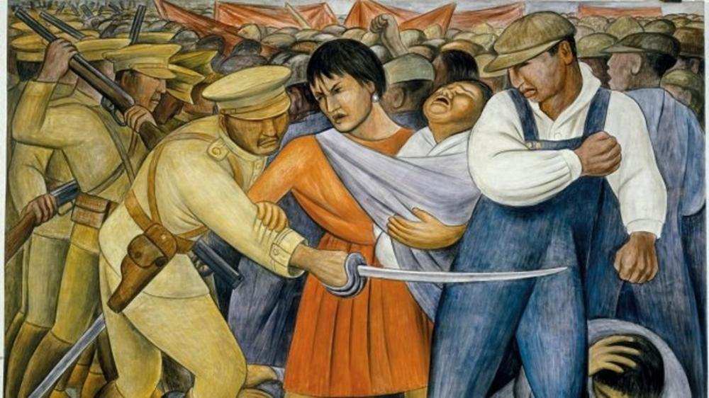 Diego Rivera, Meksika Devrimi, Kanvas Tablo, Diego Rivera