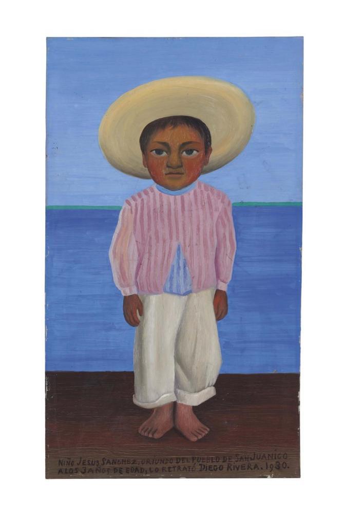Diego Rivera, Nino Jesus Sanchez, Kanvas Tablo, Diego Rivera