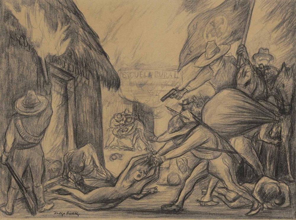 Diego Rivera, Meksika, Figür, Diego Rivera