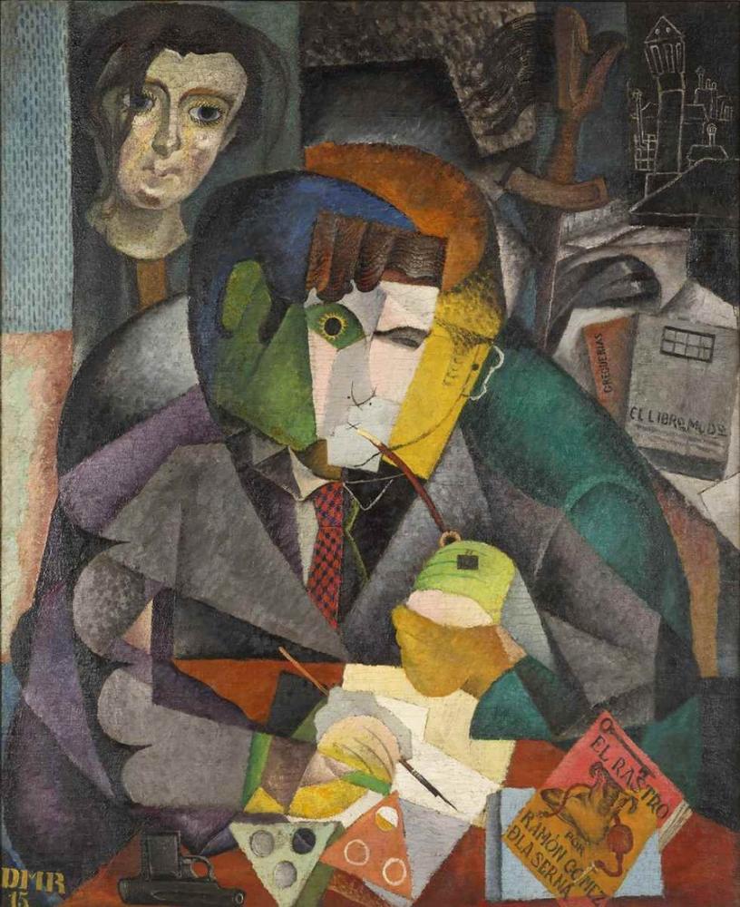 Diego Rivera, Ramon Gomez de La Serna'nın Portresi, Figür, Diego Rivera