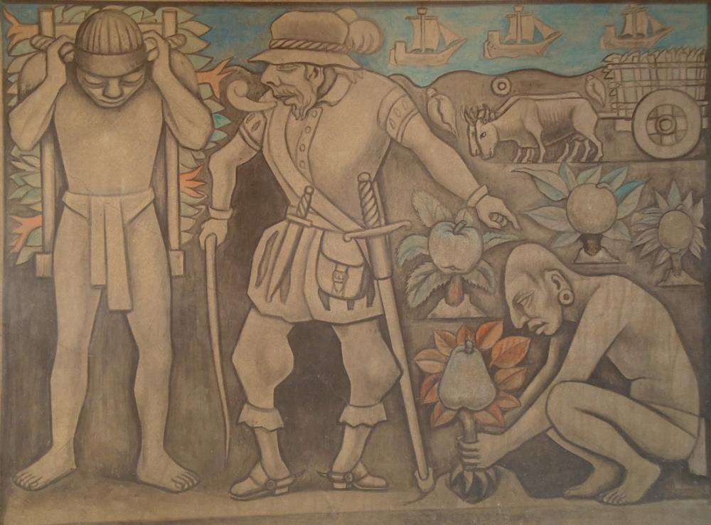 Diego Rivera, The Exploitation, Figür, Diego Rivera