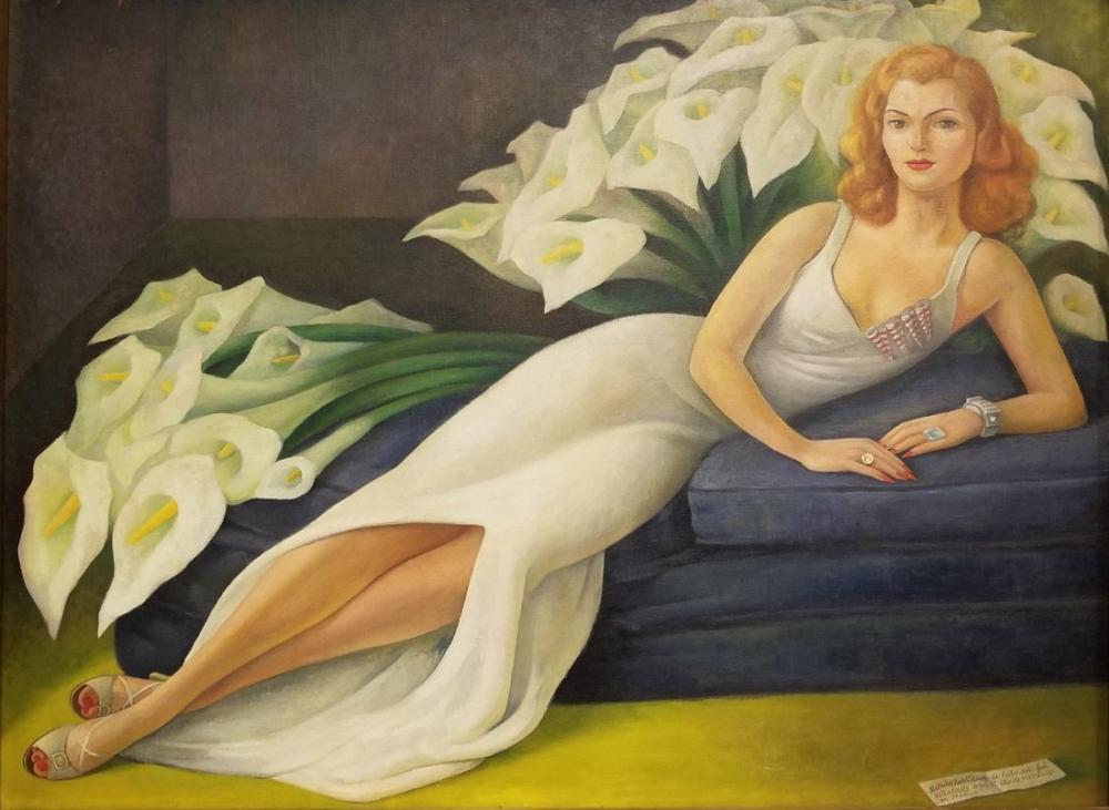 Diego Rivera, Natasha Zakolkowa Gelman Portresi, Kanvas Tablo, Diego Rivera