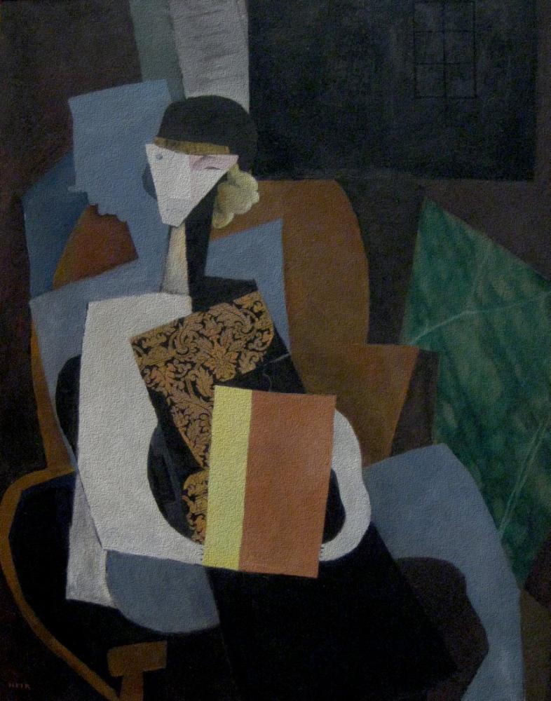 Diego Rivera, Portrait of Marevna, Figure, Diego Rivera, kanvas tablo, canvas print sales