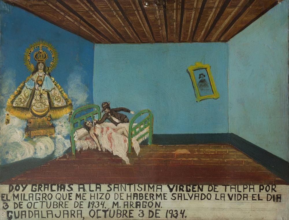 Diego Rivera, Talpa Bakiresine Adanmış Adak, Figür, Diego Rivera