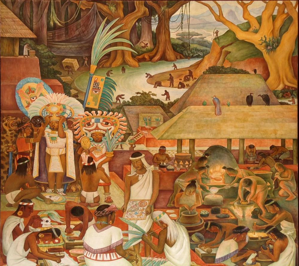 Diego Rivera, Tüy ve Altın Sanatı, Figür, Diego Rivera, kanvas tablo, canvas print sales