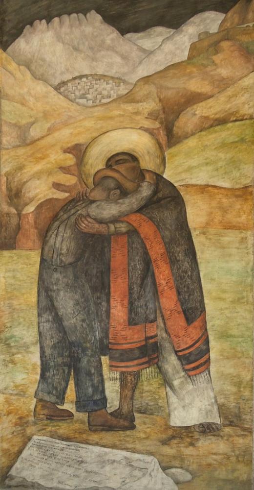 Diego Rivera, Kucaklamak, Kanvas Tablo, Diego Rivera
