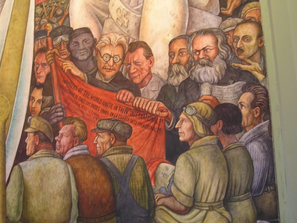 Diego Rivera, Komünistler, Kanvas Tablo, Diego Rivera