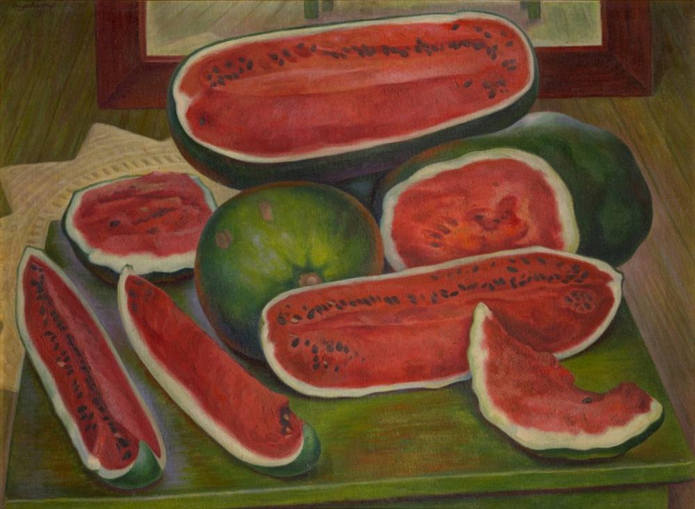 Diego Rivera, Karpuzlar, Kanvas Tablo, Diego Rivera
