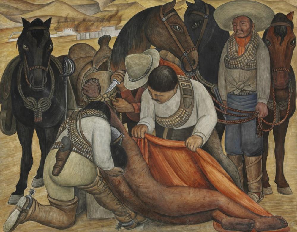 Diego Rivera, Liberation of the Peon, Figure, Diego Rivera, kanvas tablo, canvas print sales