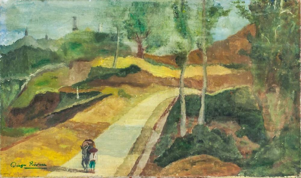 Diego Rivera, Landscape, Figure, Diego Rivera, kanvas tablo, canvas print sales