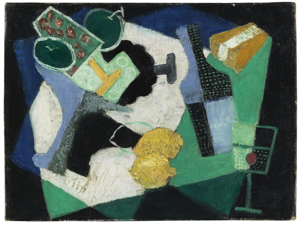 Diego Rivera, Limon ile Natürmort, Figür, Diego Rivera