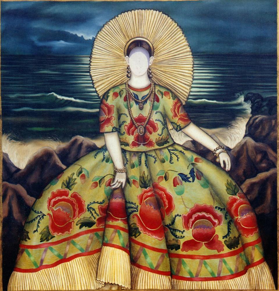 Diego Rivera, Galan Tehuana, Figür, Diego Rivera