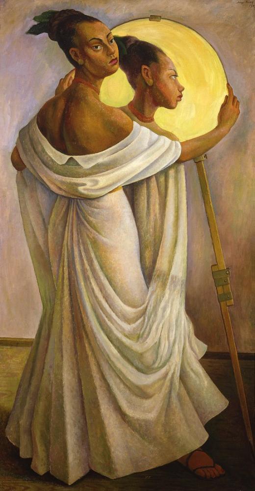 Diego Rivera, Portrait of Ruth Rivera, Canvas, Diego Rivera, kanvas tablo, canvas print sales