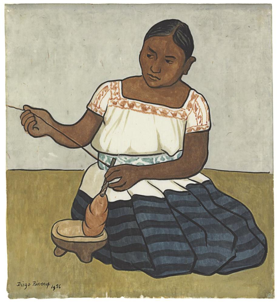 Diego Rivera, Çizimler, Figür, Diego Rivera