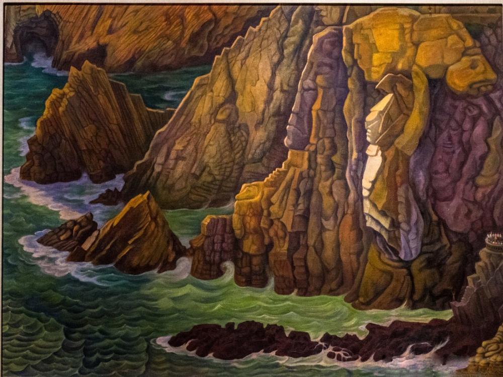 Diego Rivera, Dağ Geçidi, Kanvas Tablo, Diego Rivera