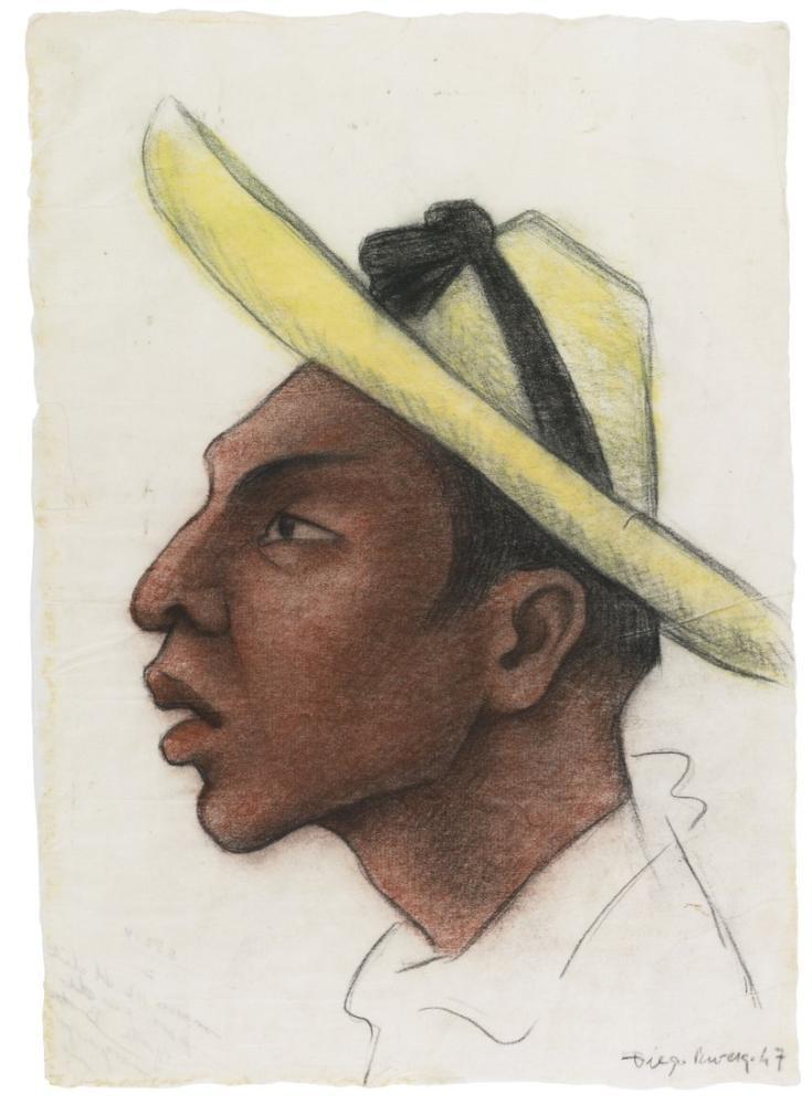 Diego Rivera, Köylünün Başı, Kanvas Tablo, Diego Rivera