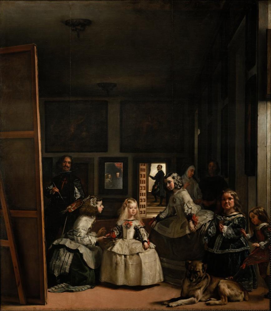 Diego Velázquez, Las Meninas, Kanvas Tablo, Diego Velázquez, kanvas tablo, canvas print sales