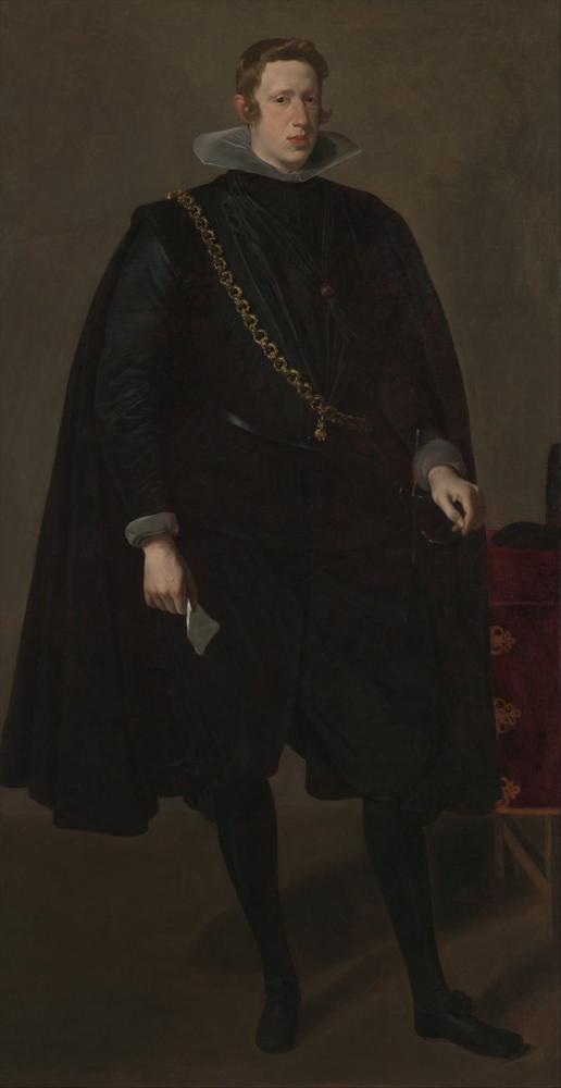Diego Velázquez, Felipe IV İspanya Kralı, Kanvas Tablo, Diego Velázquez