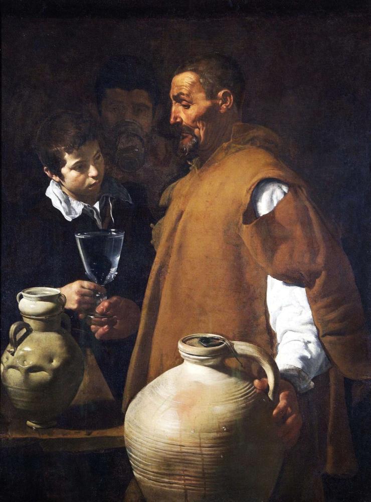 Diego Velázquez, Seville Suyu, Kanvas Tablo, Diego Velázquez, kanvas tablo, canvas print sales
