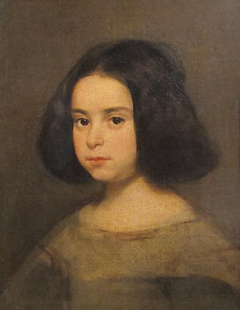 Diego Velázquez, Küçük Kız Portresi, Kanvas Tablo, Diego Velázquez, kanvas tablo, canvas print sales