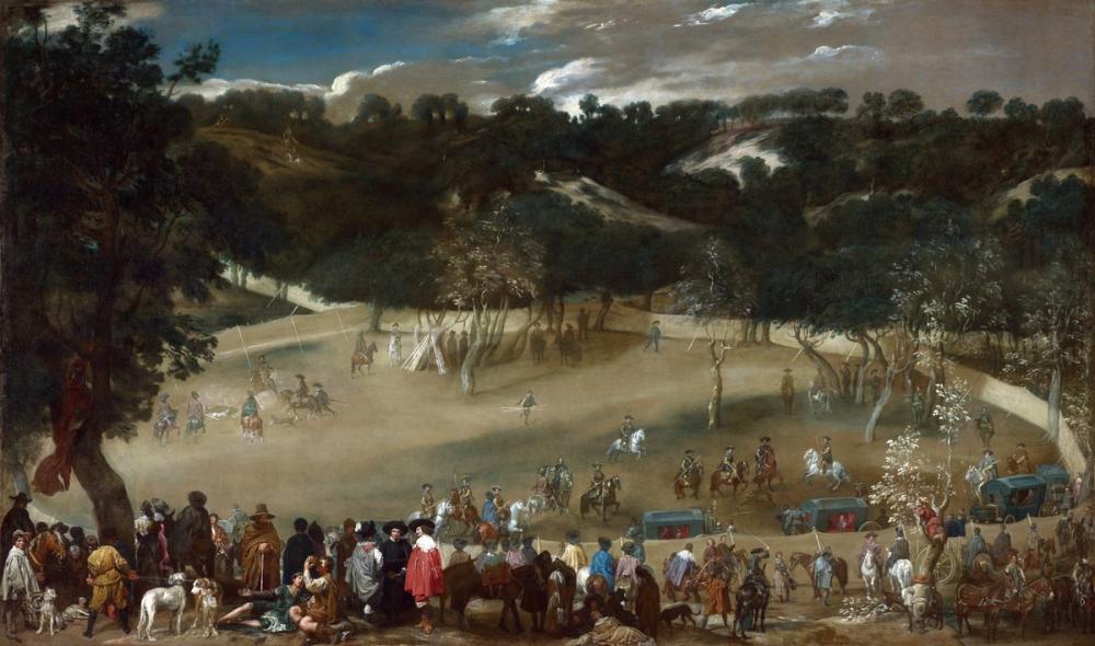 Diego Velázquez, Philip iv Hunting Wild Boar, Canvas, Diego Velázquez, kanvas tablo, canvas print sales