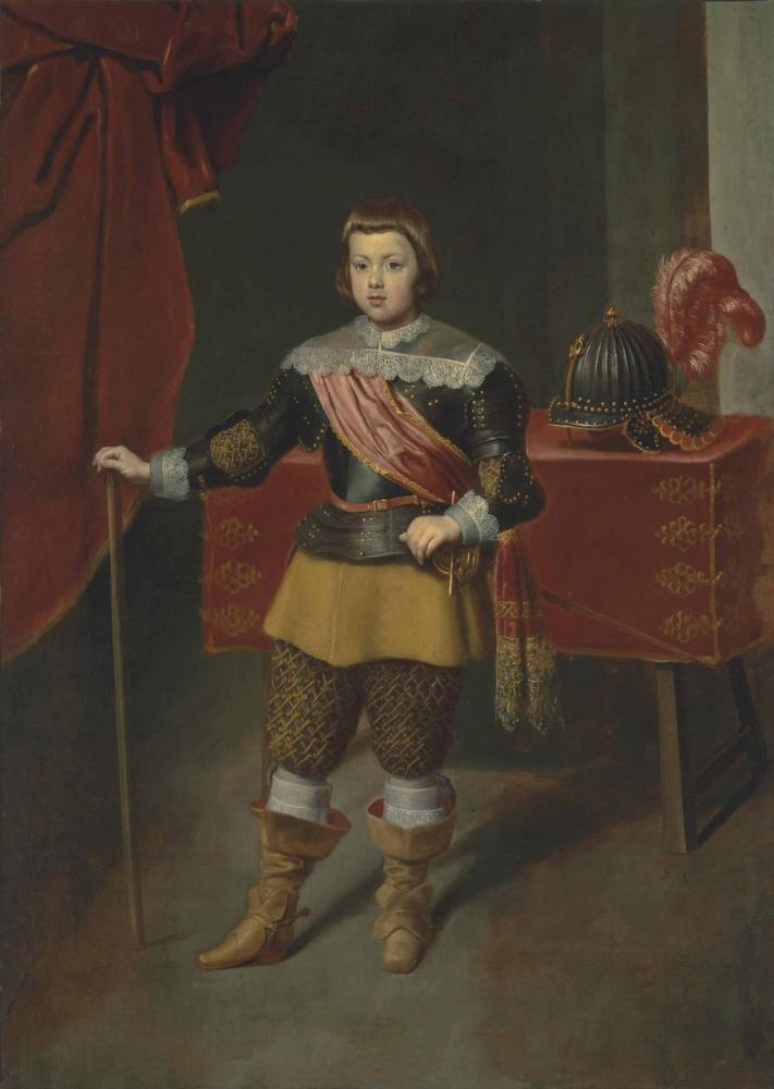 Diego Velázquez, Infante Baltasar ın Oğlunun Portresi Carlos, Kanvas Tablo, Diego Velázquez, kanvas tablo, canvas print sales