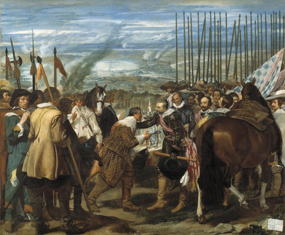 Diego Velázquez, The Surrender of Breda, Canvas, Diego Velázquez, kanvas tablo, canvas print sales