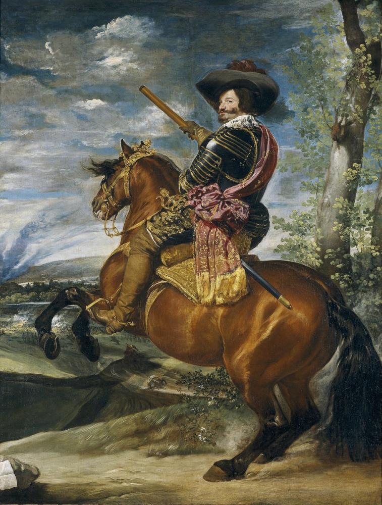 Diego Velázquez, Count Duke of Olivares, Canvas, Diego Velázquez, kanvas tablo, canvas print sales