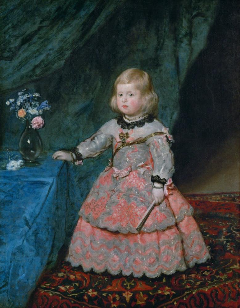 Diego Velázquez, Infanta Margarita, Canvas, Diego Velázquez, kanvas tablo, canvas print sales