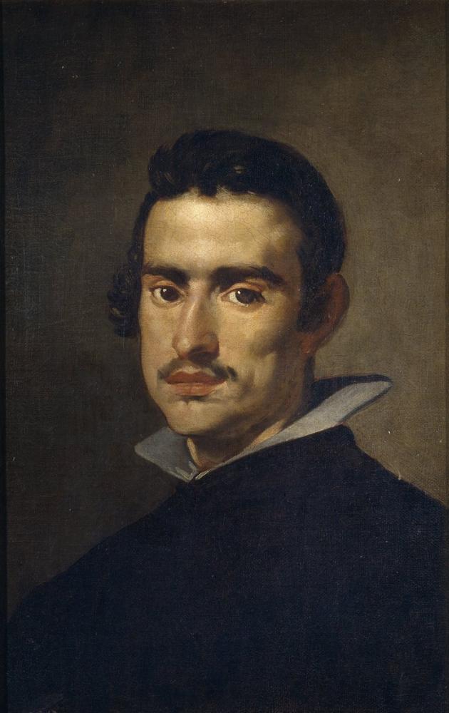 Diego Velázquez, Genç Adam, Kanvas Tablo, Diego Velázquez