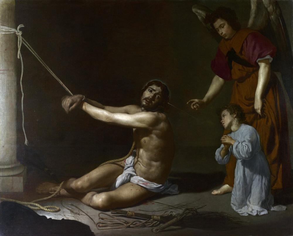 Diego Velázquez, Hıristiyan Ruhu Tarafından Tasarlanan Mesih, Kanvas Tablo, Diego Velázquez