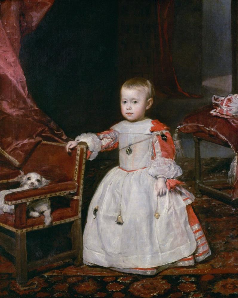 Diego Velázquez, Prens Philip Prospero, Kanvas Tablo, Diego Velázquez, kanvas tablo, canvas print sales