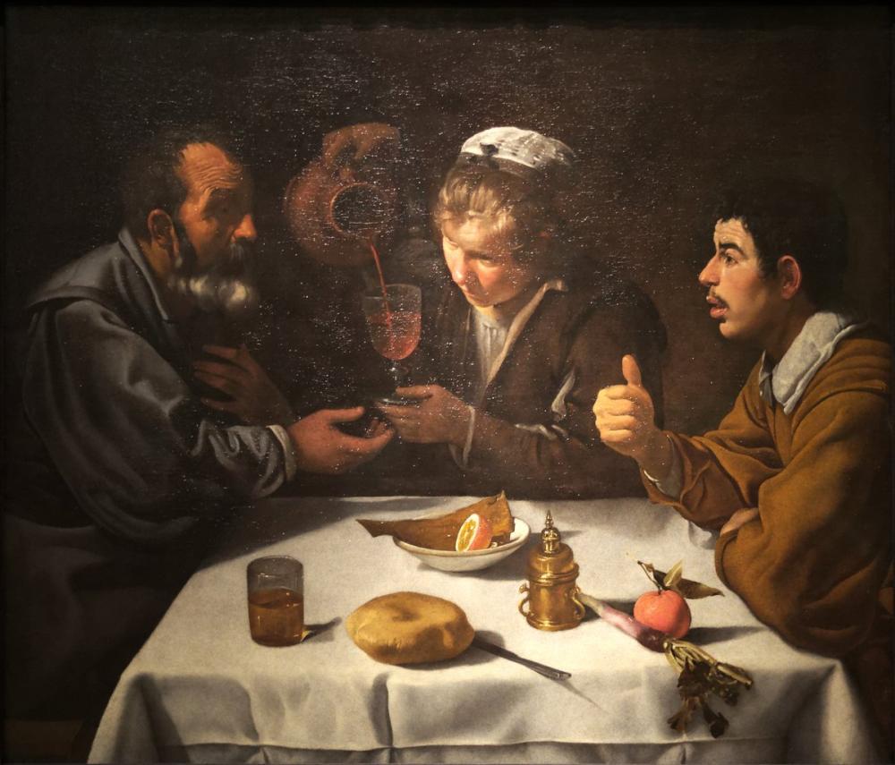 Diego Velázquez, Köylülerin Ayrılması, Kanvas Tablo, Diego Velázquez, kanvas tablo, canvas print sales