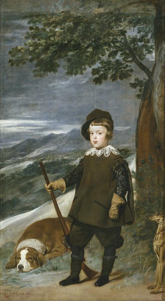 Diego Velázquez, Prens Balthasar Charles Avcı Olarak, Kanvas Tablo, Diego Velázquez, kanvas tablo, canvas print sales